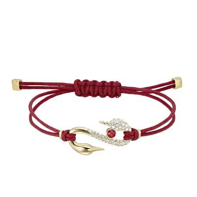 Pulsera Swarovski Power Collection Hook Roja