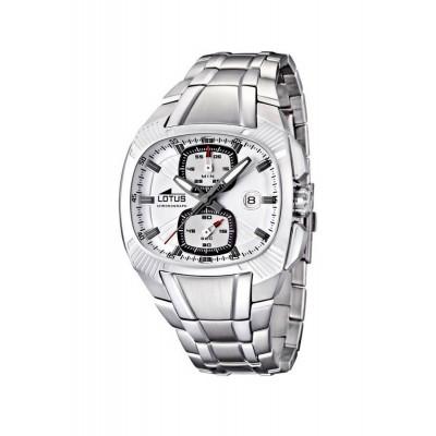 Rellotge Lotus Platejat