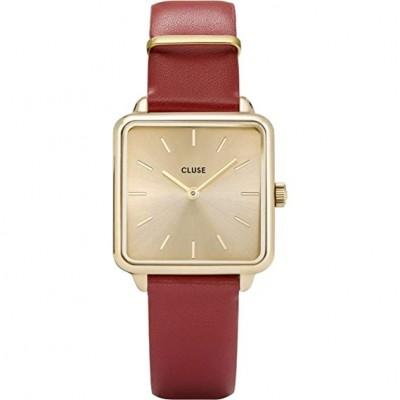 Reloj Cluse La Garçonne Rojo