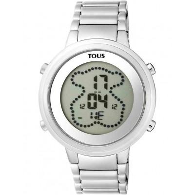 Reloj Tous digital DigiBear de acero