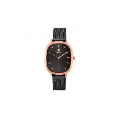 Rellotge Tous Heritage Acer Negre i Rosat