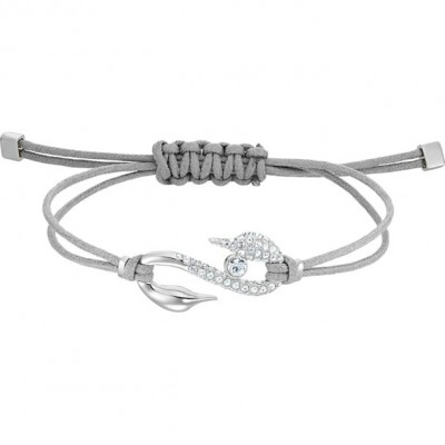 Pulsera Swarovski Power Collection Hook Gris Claro