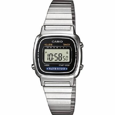 Reloj Casio Vintage Mini Plateado LA670WEA-1EF