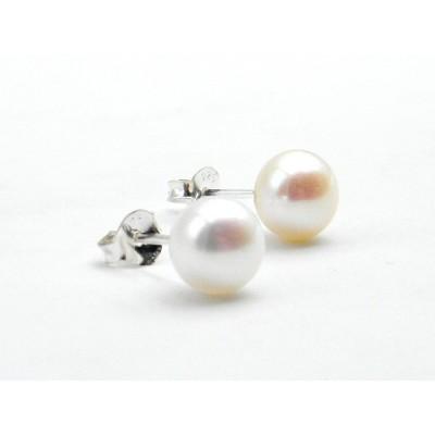 Arracades Plata Pearl