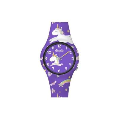 Reloj Doodle Unicornio