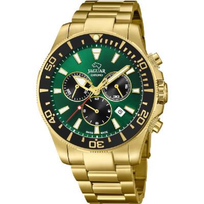 Reloj Jaguar Dorado Verde