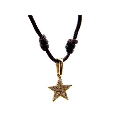 Colgante Oro Amarillo Estrella Symbol