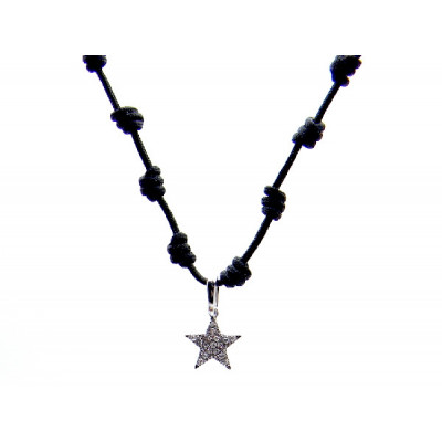 Colgante Oro Blanco Estrella Symbol