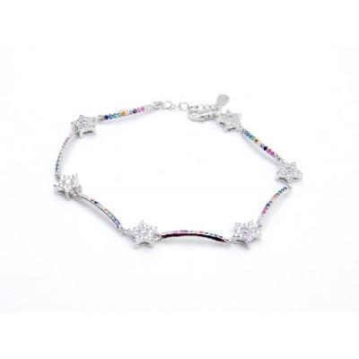 Polsera Plata Estrelles Color Symbol