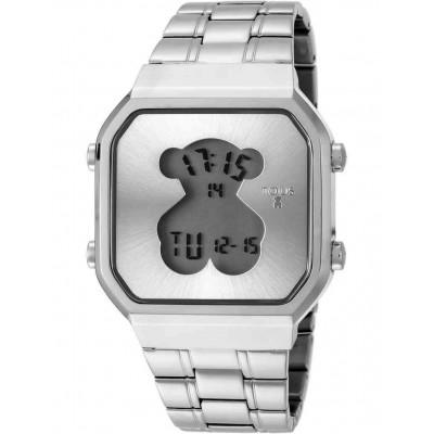 Rellotge Tous D-Bear d'acer