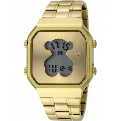 Rellotge Tous D-Bear Daurat