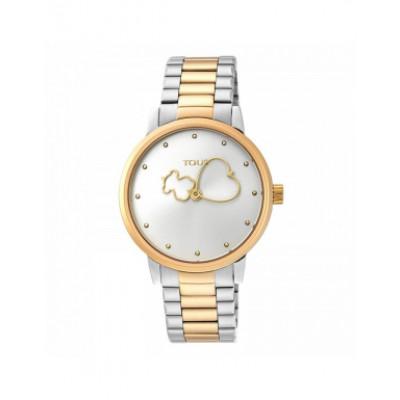 Rellotge Tous Bear Time Bicolor Daurat