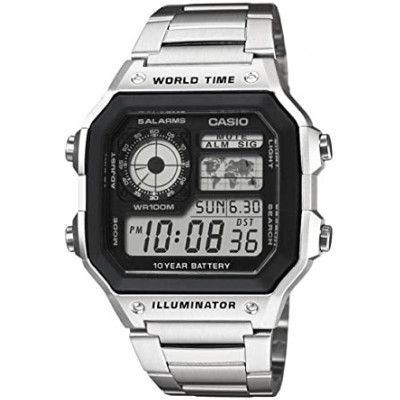 Reloj Casio World Time AE-1200WHD-1AVEF