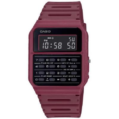 Reloj Casio Calculadora Granate CA-53WF-4BEF