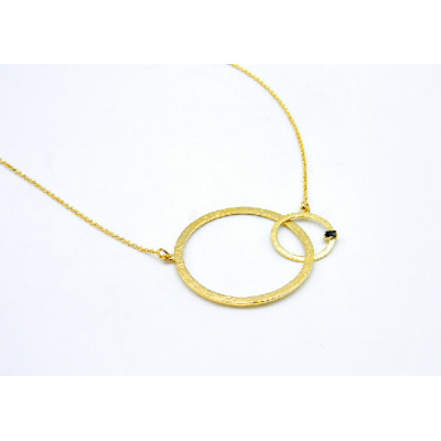 Penjoll Top Silver Cercles