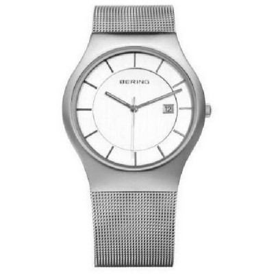 Reloj Bering Minimalista Blanco