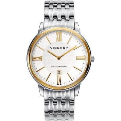 Reloj Viceroy  Sr Acero y Oro