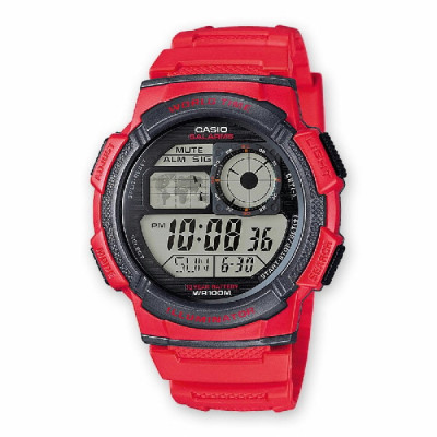 Reloj Casio Collection Rojo AE-1000W-4AVEF