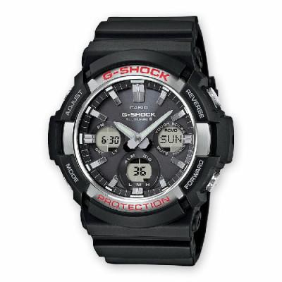 Reloj G-Shock Negro Plateado