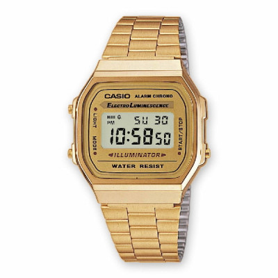 Reloj Casio Collection Dorado A168WG-9EF
