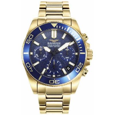 Reloj Sandoz Diver Dorado 81447-37