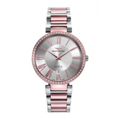 Reloj Sandoz Elle Bicolor 81364-83