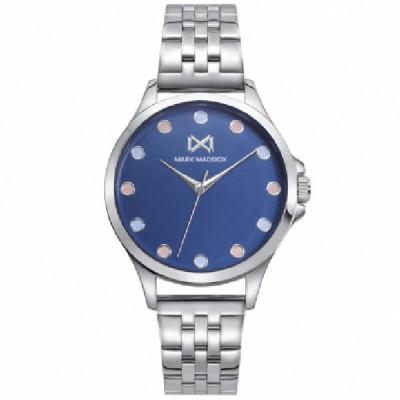 Reloj Mark Maddox Plateado Azul