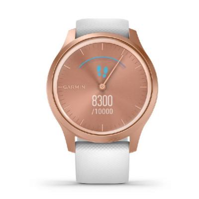 Rellotge Garmin Vivimove Rosat i Blanc