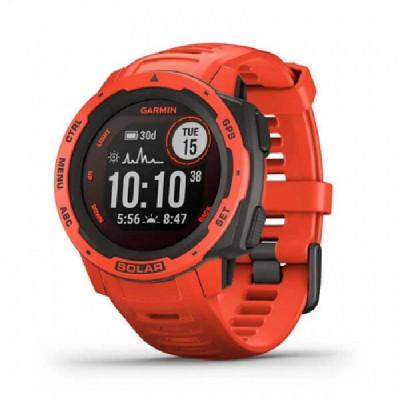 Rellotge Garmin Instinct Solar Vermell