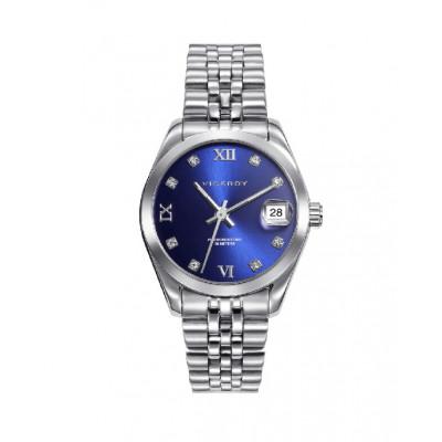 Reloj Plateado Azul Viceroy Chic