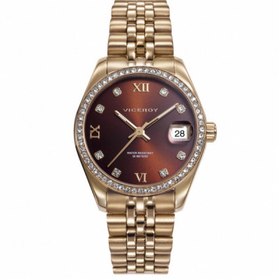 Reloj Dorado Viceroy Chic