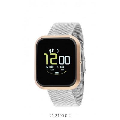 Rellotge Intel·ligent Smart City Collection Platejat Rosat