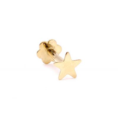 Pírcing Or Groc Estrella Mini
