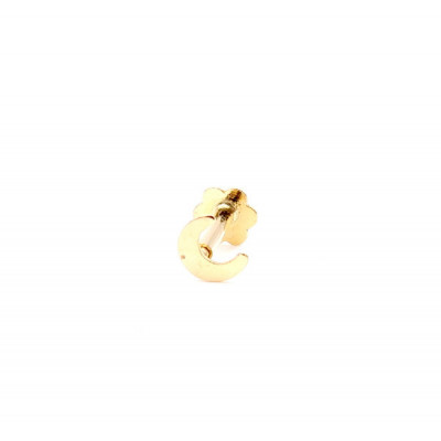 Piercing Oro Amarillo Luna