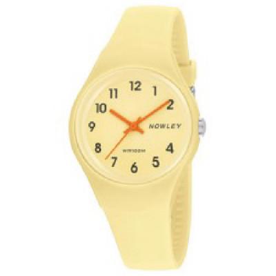 Reloj Amarillo Pastel Nowley Racing
