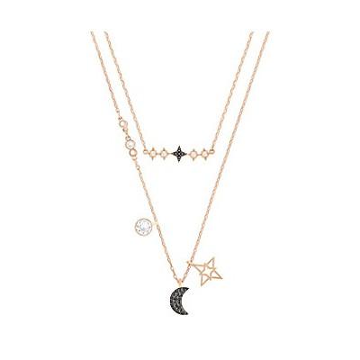 Conjunt Penjolls Swarovski Symbolic Moon