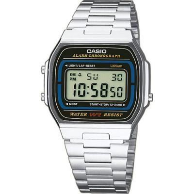 Reloj Casio Vintage Plateado A164WA-1VES