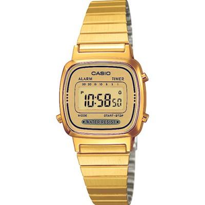 Reloj Casio Vintage Mini Dorado LA670WEGA-9EF