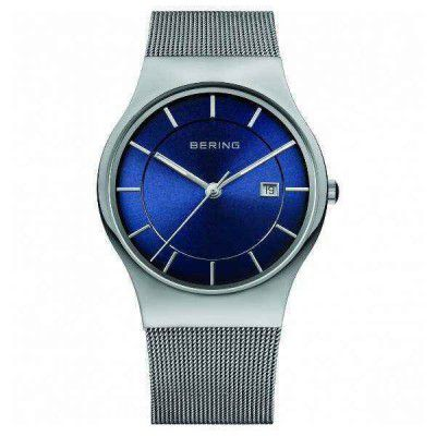 Rellotge Bering Minimalista Blanc